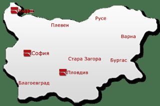 Карта на офисите